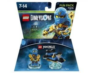 Lego Dimension Fun Pack 71215 (ubrugt)