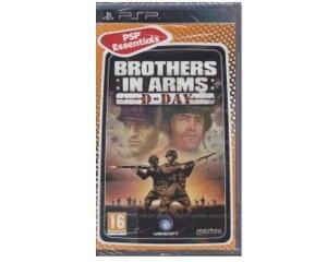 Brothers in Arms : D-Day (essentials) (forseglet) (PSP)