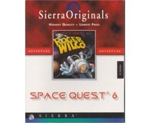 Space Quest 6 (sierra originals) m. kasse og manual (CD-Rom) (forseglet)