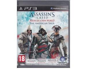 Assassin's Creed : Birth of a New World : The American Saga (PS3)