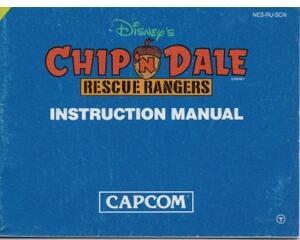 Chip'n Dale (SCN) (Nes manual)