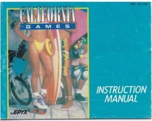California Games (slidt) (USA) (Nes manual)