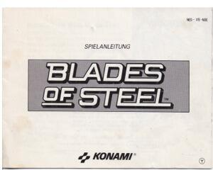 Blades of Steel (NOE) (Nes manual)