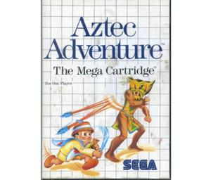 Aztec Adventure m. kasse og manual (dårlig stand)
