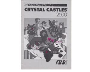 Crystal Castles (slidt) (Atari 2600 manual)