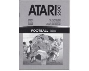 Football Realsport Soccer (Atari 2600 manual)