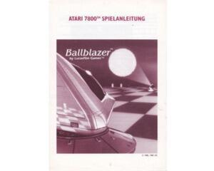 Ballblazer (tysk) (Atari 7800 manual)
