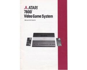 Atari 7800 Video Game System (spansk) (Atari 7800 manual)