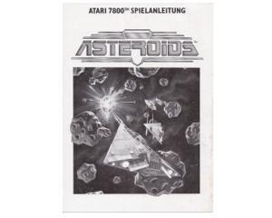 Asteroids (tysk) (Atari 7800 manual)