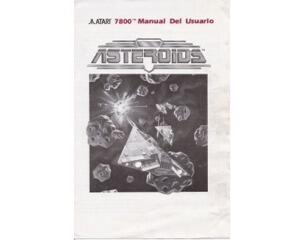 Asteroids (spansk) (Atari 7800 manual)