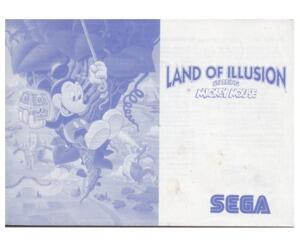 Land of Illusions starring Mickey Mouse (slidt) (SMS manual)