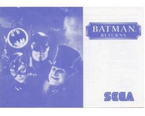 Batman Returns (SMS manual)