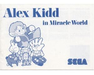 Alex Kidd in Miracle World (SMS manual)