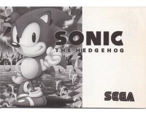 Sonic the Hedgehog (SMS manual)
