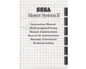 Sega Master System II (EN/DE/FR/ES/IT/SE) (SMS manual)