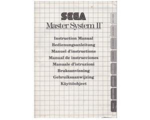Sega Master System II (EN/DE/FR/ES/IT/SE/NE/FI) (slidt) (SMS manual)
