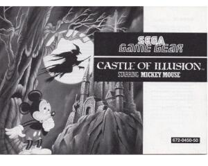 Castle of Illusion starring Mickey Mouse (SGG manual)