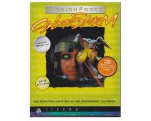 Missionforce : Cyber Storm m. kasse og manual (CD-Rom)