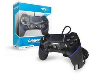 PS4 Champion Controller (sort) m. ledning (TTX)