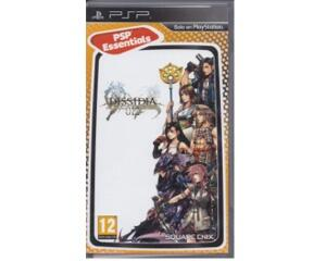 Dissidia 012 Final Fantasy (spansk kasse og manual) (essentials) (PSP)