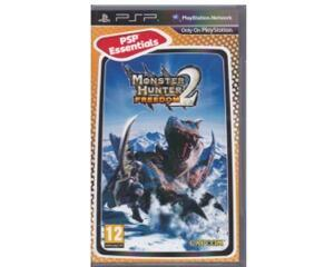 Monster Hunter Freedom 2 (spansk kasse og manual) (essentials) (PSP)