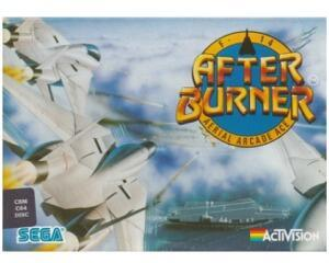 After Burner (disk) (papæske) u. manual (Commodore 64)