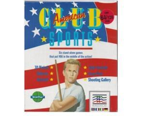 American Club Sports (disk) (papæske) (Commodore 64)