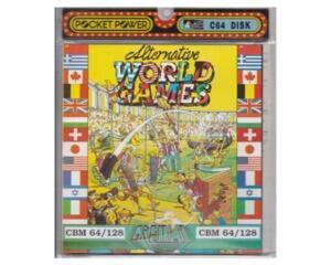 Alternative World Games (disk) (pocket power) (Commodore 64)