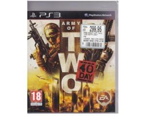 Army of Two : 40 Days u. manual (PS3)