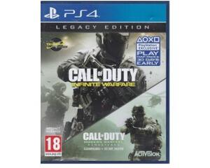 Call of Duty : Infinite Warfare / Call of Duty : Modern Warfare Remastered (legacy edition) (PS4)