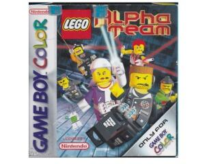 Lego Alpha Team m. kasse og manual (GBC)