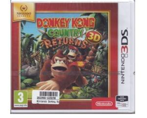 Donkey Kong Country Returns 3D (ny vare) (3DS)
