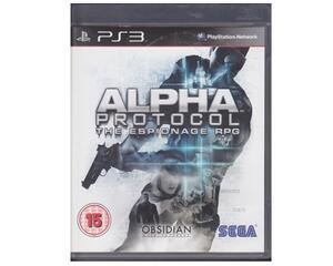 Alpha Protocol : The Espionage RPG (forseglet) (PS3)
