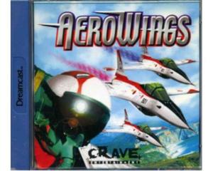 Aero Wings m. kasse og manual (Dreamcast)