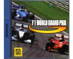 F-1 World Grand Prix m. kasse og manual (Dreamcast)