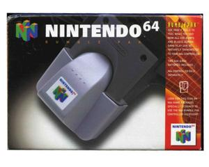N64 Rumble Pak m. kasse og manual