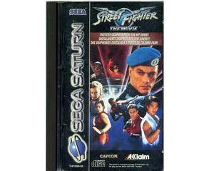 Street Fighter : the Movie m. kasse og manual