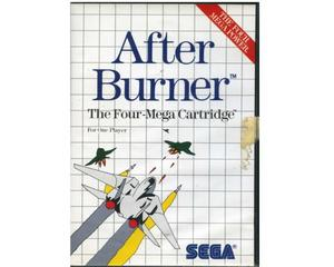 After Burner m. kasse og manual (SMS)
