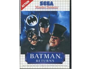 Batman Returns m. kasse og manual