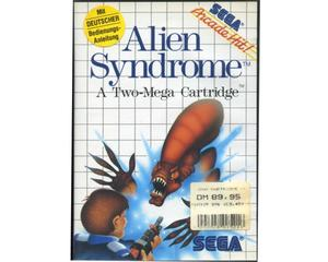 Alien Syndrome m. kasse og manual (SMS)