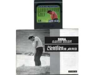 Leaderboard Golf m. manual (Game Gear)