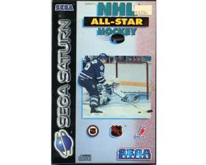NHL All-Star Hockey m. kasse og manual