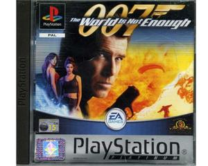 007 : The World is Not Enough (platinum) (PS1)
