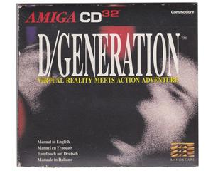 D/Generation (CD32) i CD kasse med manual