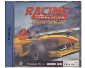Monaco Grand Prix : Racing Simulator 2 m. kasse og manual (Dreamcast)