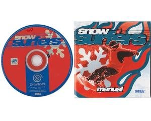 Snow Surfers m. og manual (Dreamcast)