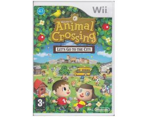Animal Crossing : Lets Go to the City (Wii)