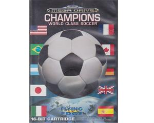 Champions World Class Soccer m. kasse og manual