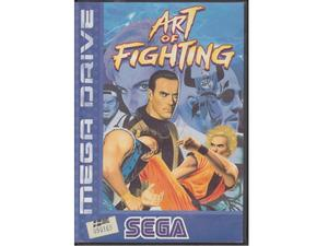 Art of Fighting m. kasse (dårlig label)