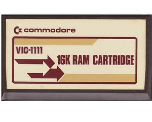 16k Ram Cartridge (vic modul)